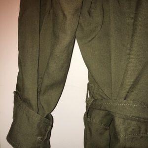 f7d53a90e57 GAP Pants - GAP- JUMPSUIT  ROMPER- OLIVE   ARMY GREEN ♧️NWT